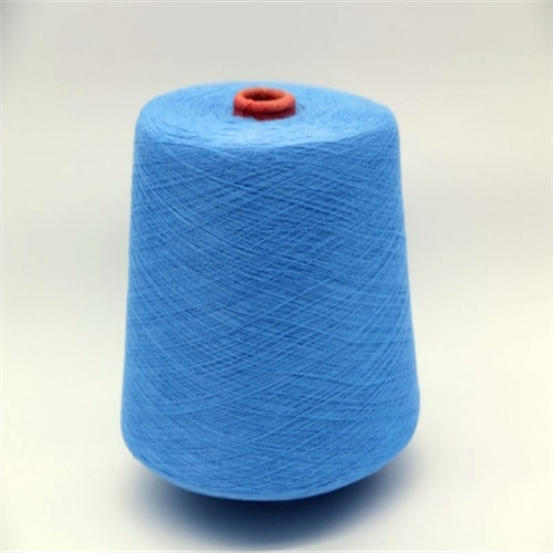 China polyester dope dyed yarn 18/1,polyester dope dyed yarn