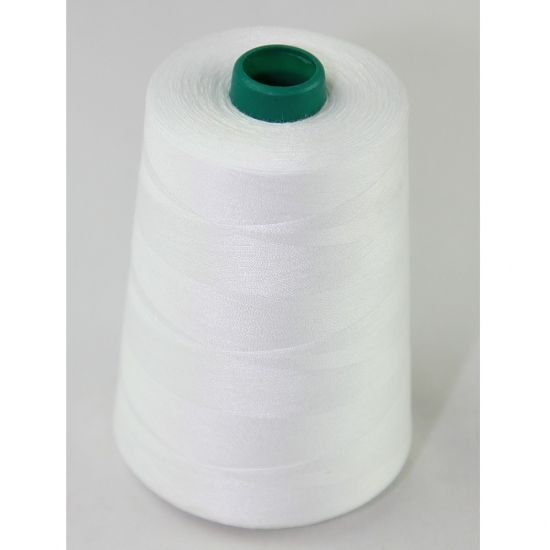 Spun polyester threads with TFO quality use for sewing