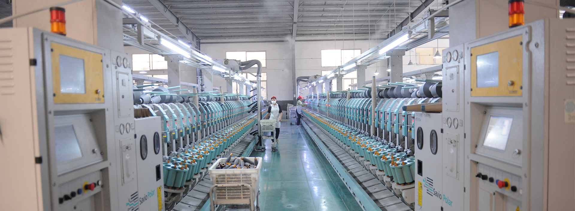 Virgin Polyester Spun Yarn Factory